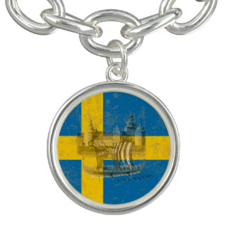Flag and Symbols of Sweden ID159