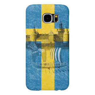 Flag and Symbols of Sweden ID159 Samsung Galaxy S6 Cases