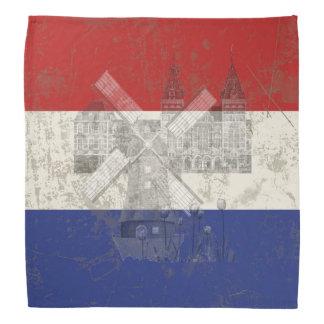 Flag and Symbols of the Netherlands ID151 Bandana