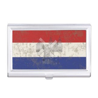 Flag and Symbols of the Netherlands ID151 Business Card Holder
