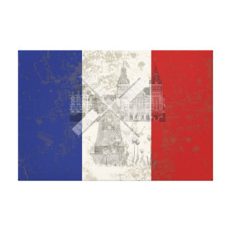 Flag and Symbols of the Netherlands ID151 Canvas Print