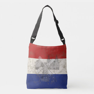 Flag and Symbols of the Netherlands ID151 Crossbody Bag