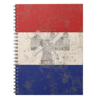 Flag and Symbols of the Netherlands ID151 Notebook