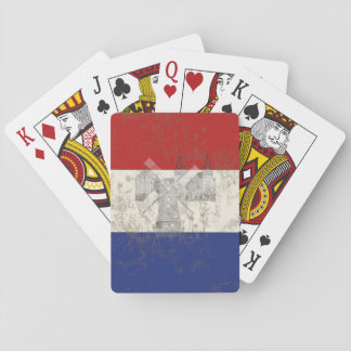Flag and Symbols of the Netherlands ID151 Playing Cards