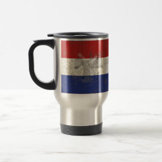 Flag and Symbols of the Netherlands ID151 Travel Mug