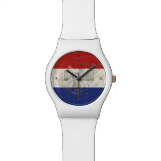 Flag and Symbols of the Netherlands ID151 Watch