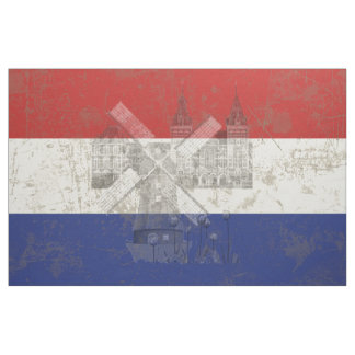 Flag and Symbols of the Netherlands V2 ID151 Fabric