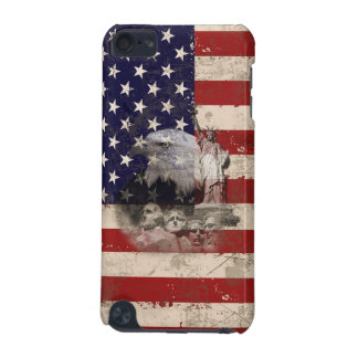 Flag and Symbols of United States ID155 iPod Touch (5th Generation) Cover