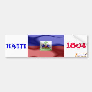 flag, anmwey, HAITI, 1804 Car Bumper Sticker
