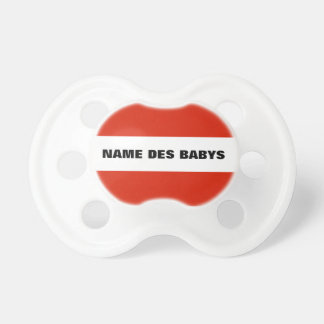 Flag Austria Baby Pacifiers