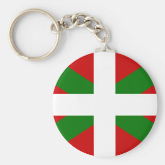 Flag Basque Country euskadi Key Ring