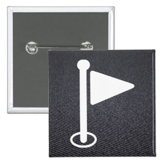 Flag Blurs Pictograph 15 Cm Square Badge