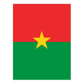 flag_burkina_farso postcard