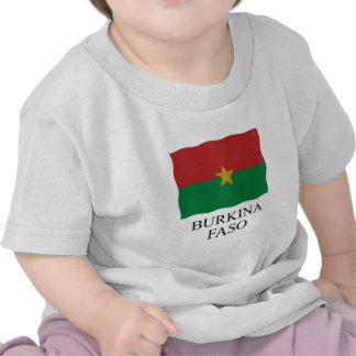 Flag Burkina Faso Tshirt