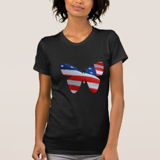 flag butterfly T-Shirt
