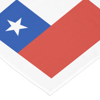 Flag: Chile Short Table Runner
