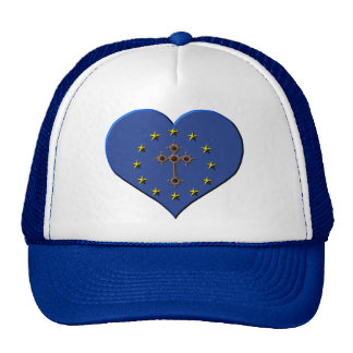 Flag christianity Europa Hats