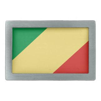 flag_congo belt buckle