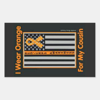 Flag/Cousin...RSD/CRPS Rectangular Sticker