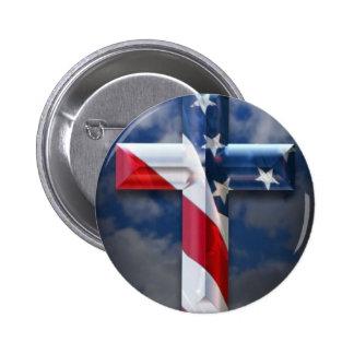 Flag Cross Buttons