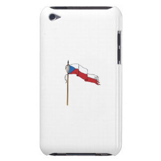 Flag Czech Republic Torn Ripped Retro Case-Mate iPod Touch Case