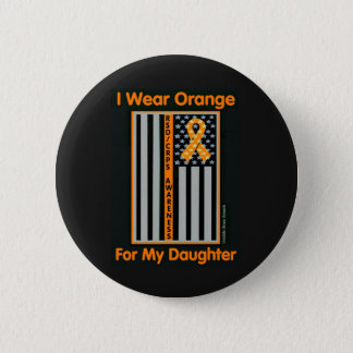 Flag/Daughter...RSD/CRPS 6 Cm Round Badge