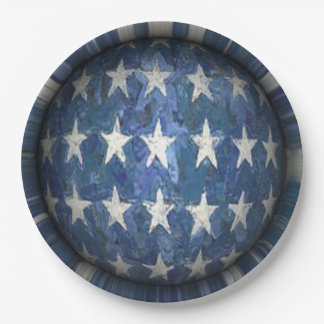 Flag Day 9 Inch Paper Plate