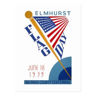 Flag Day Postcard