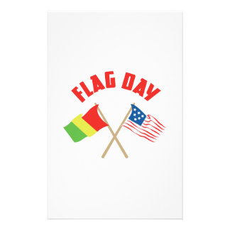 Flag Day Personalized Stationery