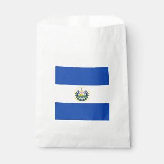 Flag: El Salvador Favour Bags