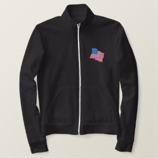 Flag Embroidered Jacket