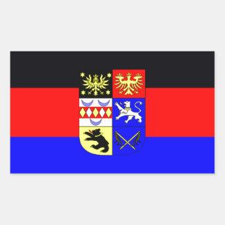 Flag - Flagge - Fahne - Germany East Frisia Rectangular Sticker