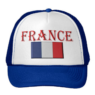 flag french cap