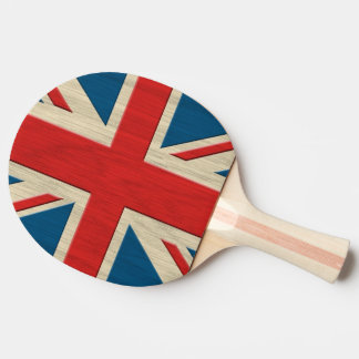 flag great Britain Ping Pong Paddle