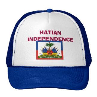 flag-Haiti-detail-lg, HATIAN INDEPENDENCE Trucker Hat