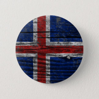 Flag - Iceland 6 Cm Round Badge