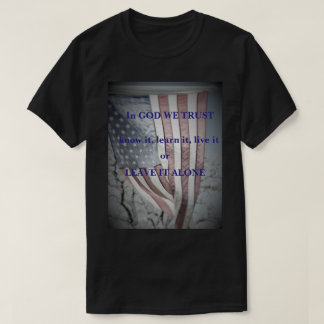 Flag-In God We Trust T-Shirt