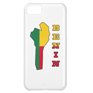 Flag in Map of Benin iPhone 5C Cover