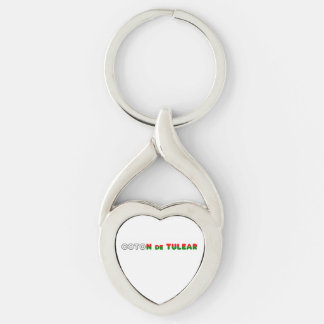 flag in name coton key ring