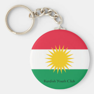 flag-kurdistan, Kurdish Youth Club Key Ring