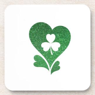 Flag Love St Patrick's Day Coaster
