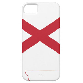 Flag Map Of Alabama Case For The iPhone 5