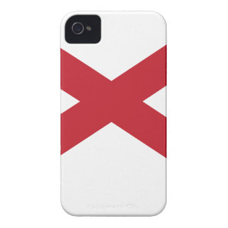 Flag Map Of Alabama iPhone 4 Cases