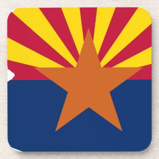 Flag Map Of Arizona Coaster