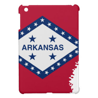 Flag Map Of Arkansas iPad Mini Case