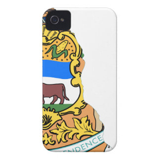 Flag Map Of Delaware iPhone 4 Case-Mate Case