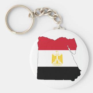 Flag/Map of Egypt Key Ring