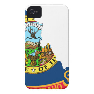 Flag Map Of Idaho Case-Mate iPhone 4 Case
