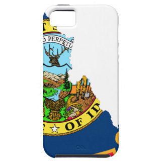 Flag Map Of Idaho iPhone 5 Cover
