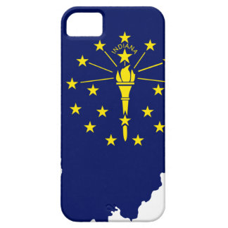 Flag Map Of Indiana Barely There iPhone 5 Case